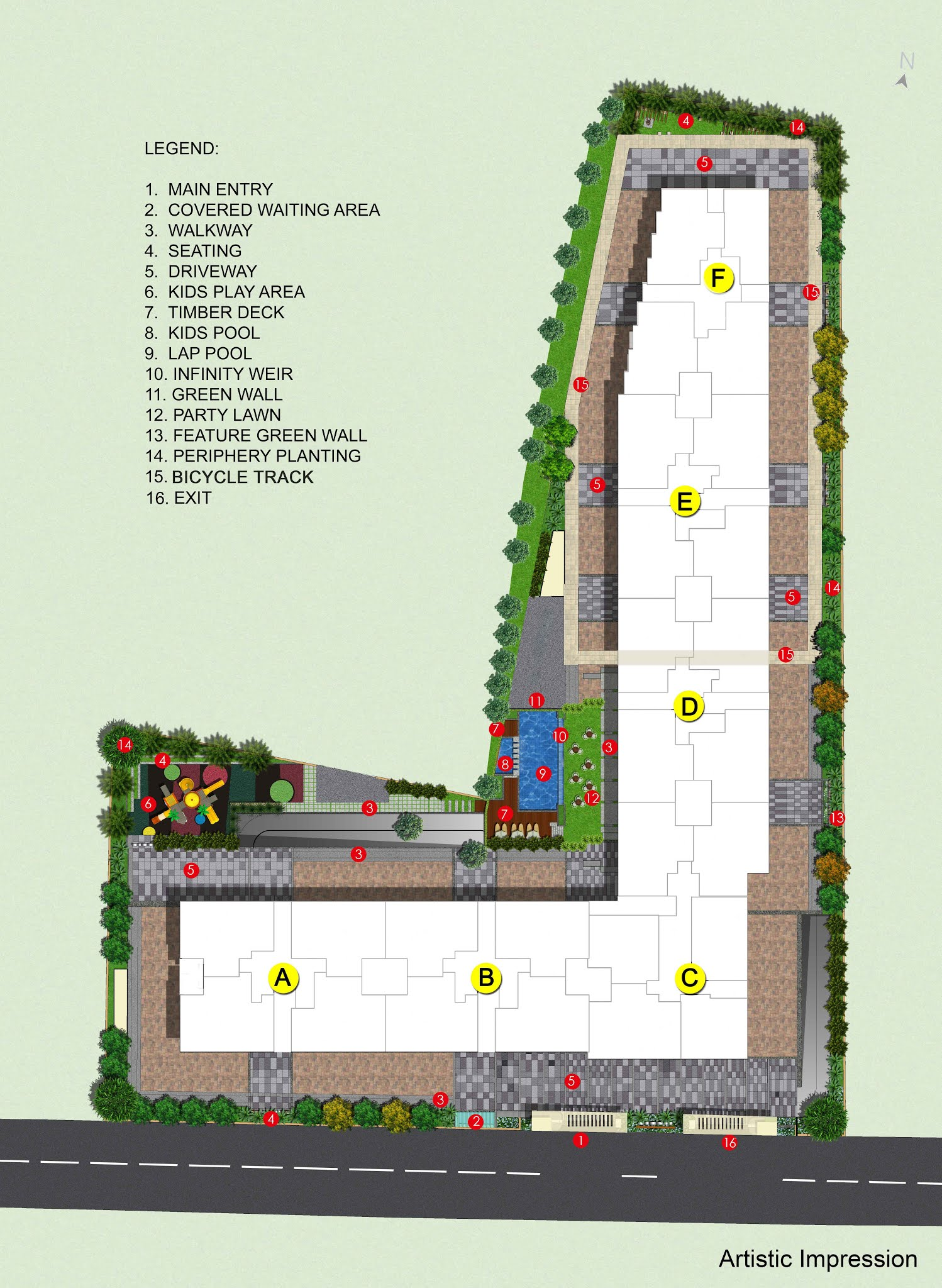 adarsh palm retreat flats master plan