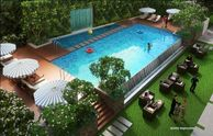 Adarsh Mayberry apartments swimming pool