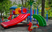Adarsh Mayberry apartments children play area